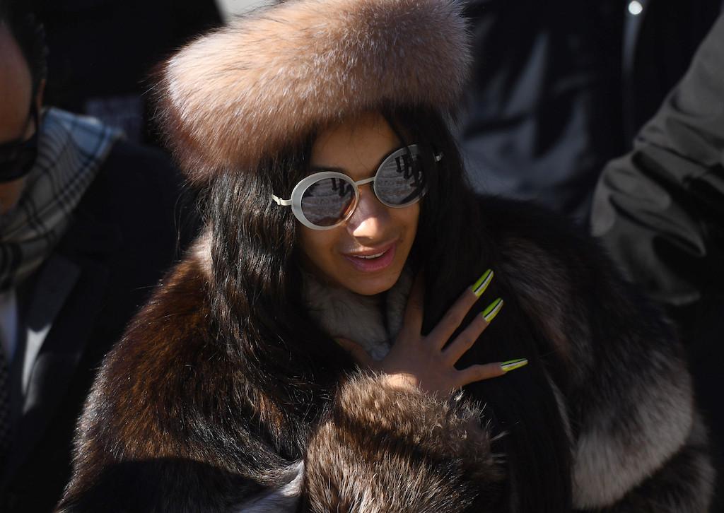 Rap superstar Cardi B indicted over strip club brawl