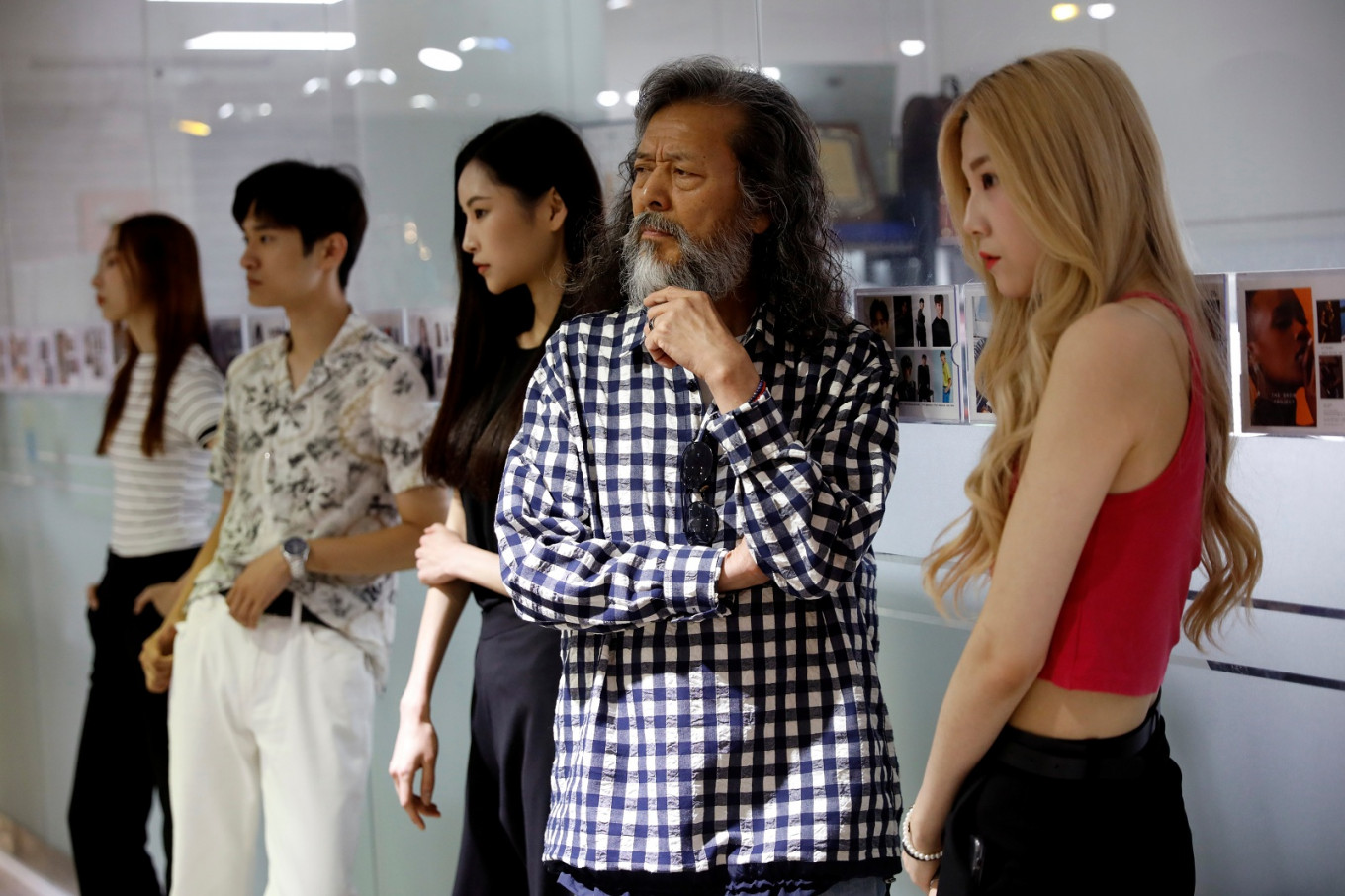 'Don't ask my age': Aging South Koreans begin a new chapter on the catwalk, YouTube