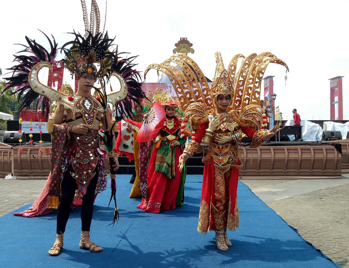 Sriwijaya XXVIII Festival in Palembang struggles to attract tourists