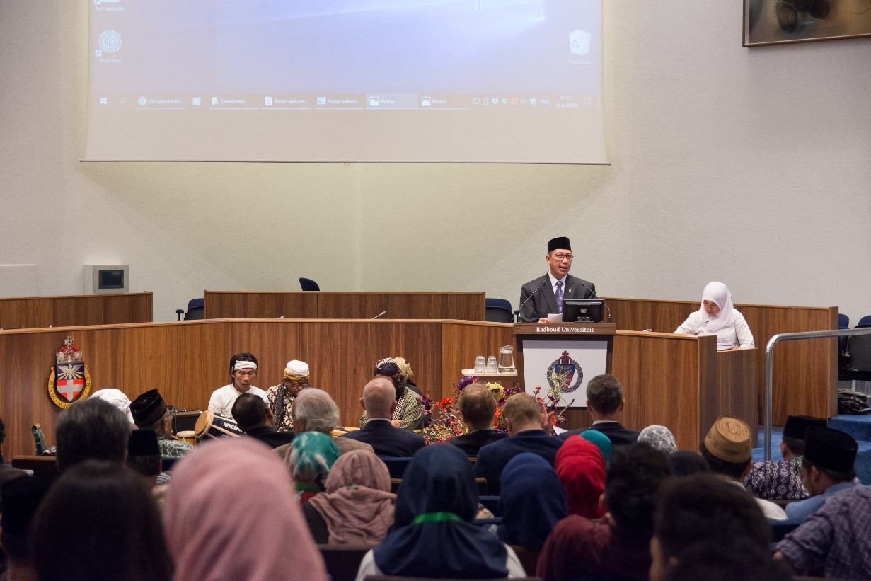 Indonesian Muslim figures help promote 'middle Islam' in the Netherlands
