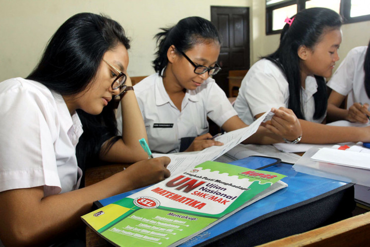 All work, no play: Twelfth-graders study hard to get into state universities