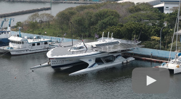 Race for Water: Solar-powered boat transits in Jakarta