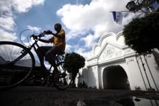 The Tarunasura Arch was the last defense line of the Yogyakarta Palace. JP/Boy T. Harjanto