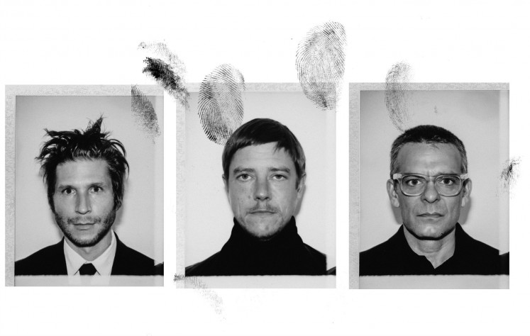 Intriguing: Rock band Interpol members (from left) lead guitar player and backing vocals Daniel Kessler, lead singer and bass guitar player, Paul Banks and drummer Sam Fogarino release 'A Fine Mess' – a compressed, overdriven-crunch quality album throughout.
