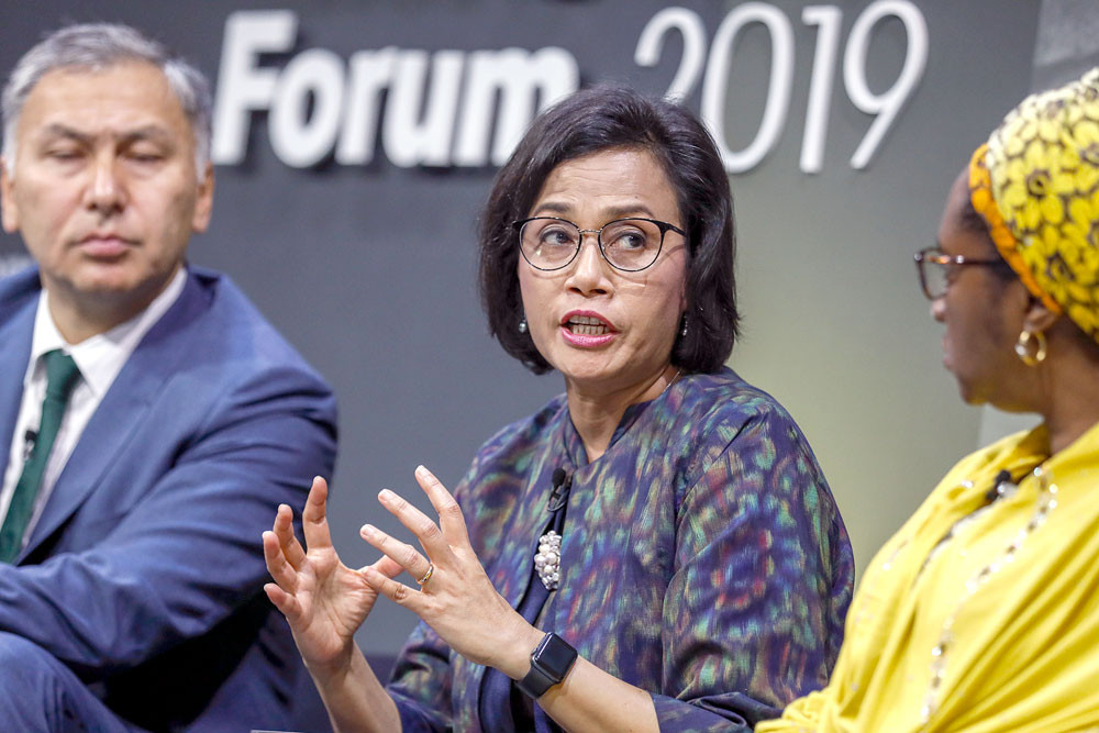 'World Bank boss used to rib me': Sri Mulyani tells story about stunting in Indonesia