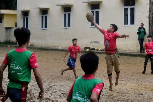 Rice terraces and 'turtle shell' scrums: barefoot rugby in Vietnam