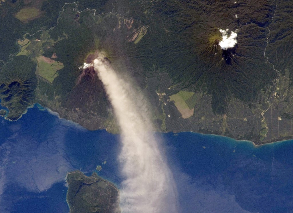 Papua New Guinea volcano spews ash, triggering eruption alert