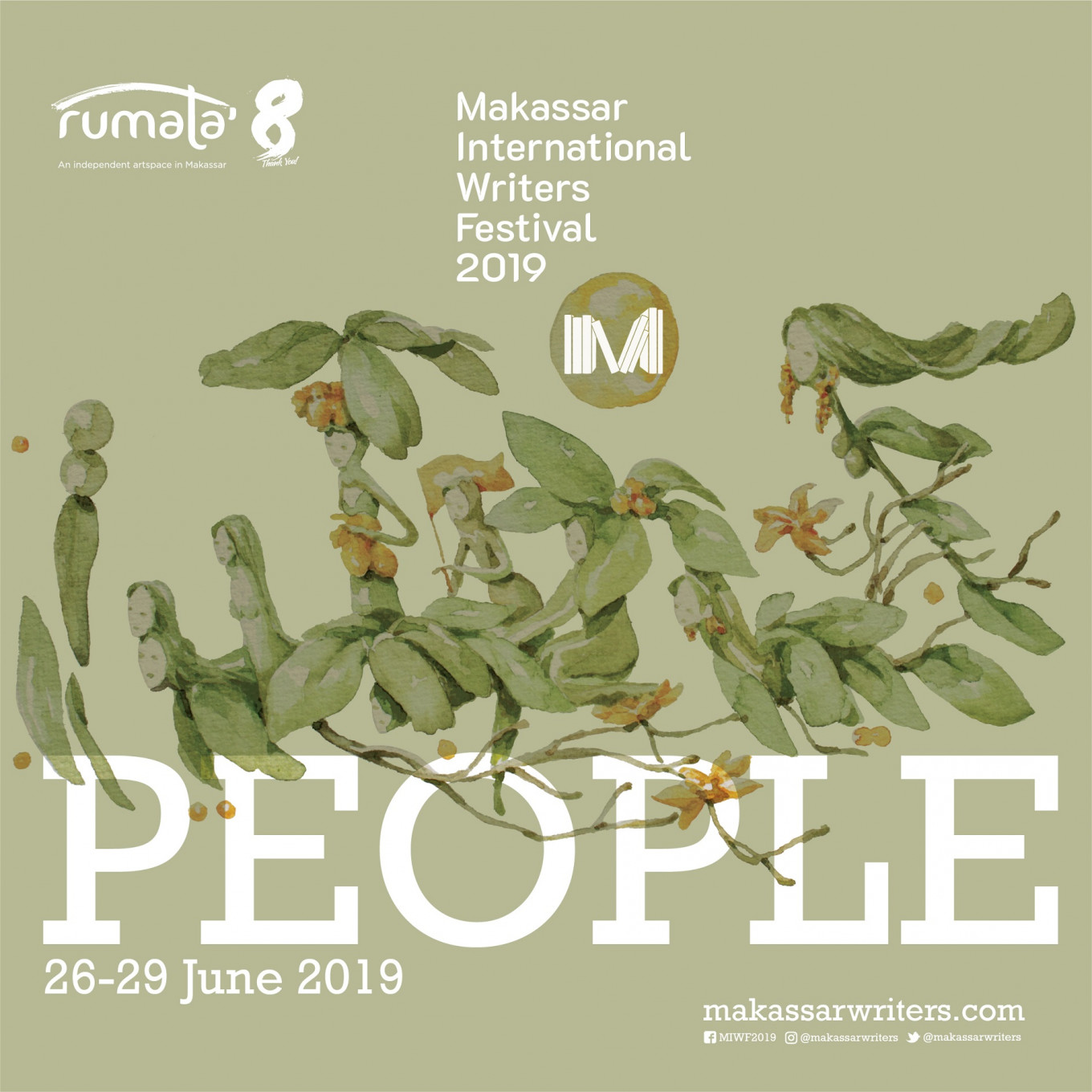 "Writers try to reclaim ""people"" during 2019 MIWF"