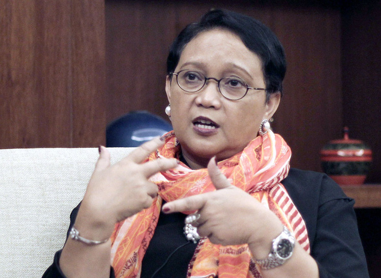 Jokowi needs powerful foreign minister