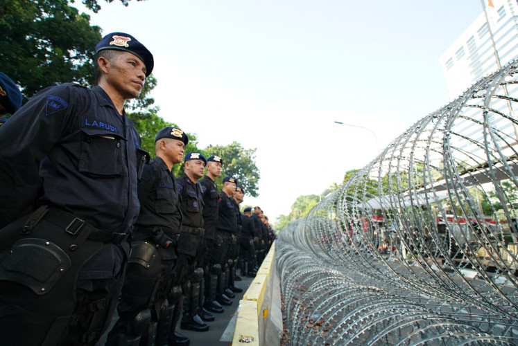 Police accused of using excessive force against protesters, journalists outside State of Nation venue