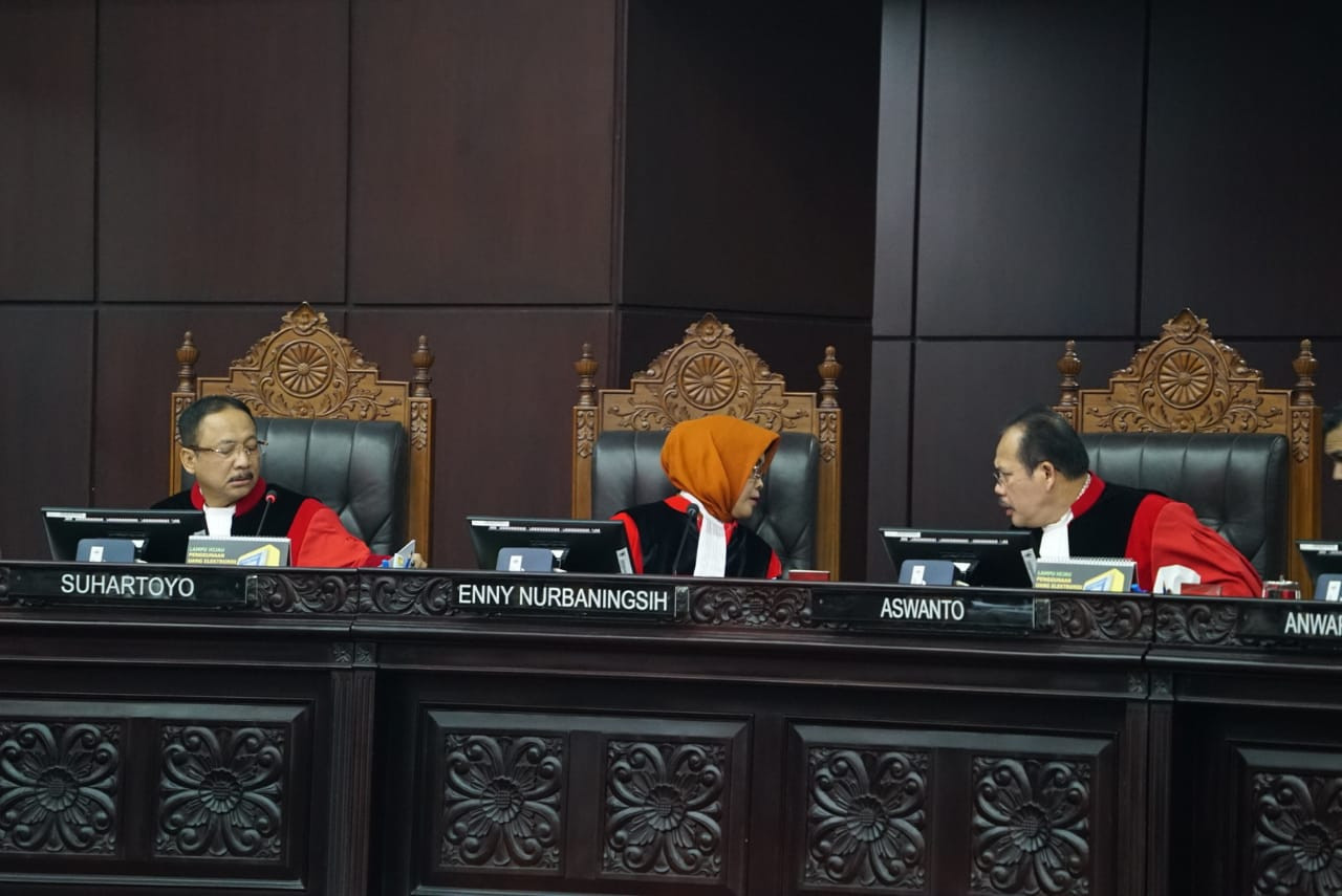 Court finds no evidence of Prabowo's massive electoral fraud allegations