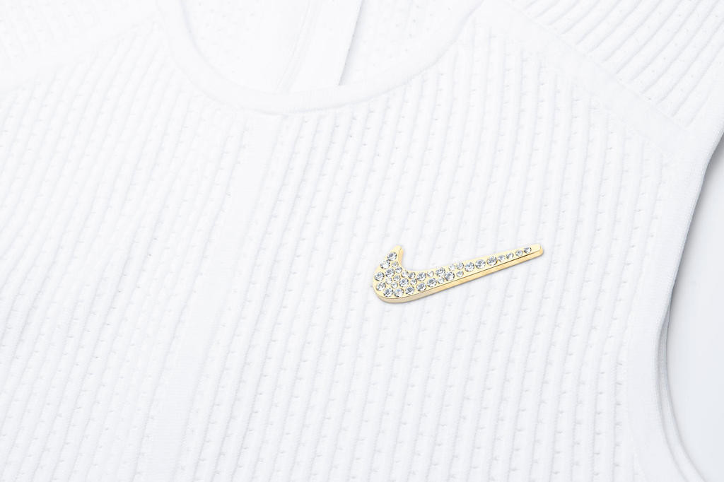 Serena Williams to wear Nike's Swarovski-studded brooch for