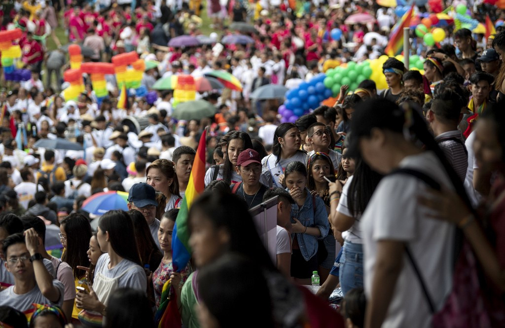 Thousands march for equality in Manila's Gay Pride parade