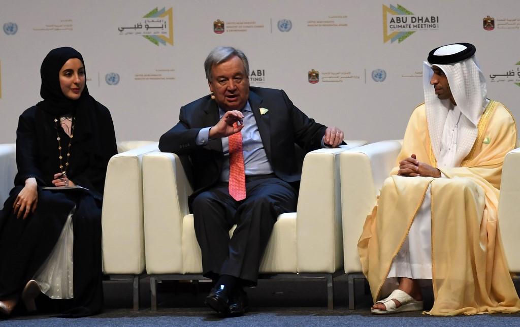 UN chief urges action to avert climate change 'catastrophe'