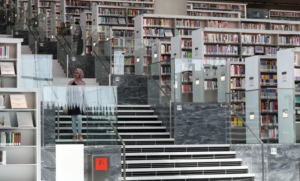 Qatar mega-library defies boycott and woos youth