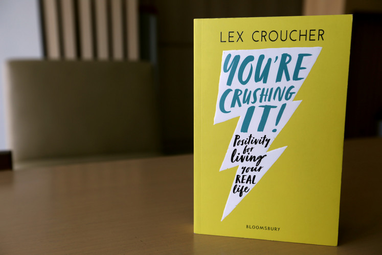 'You're Crushing It!' urges you to face life with positivity