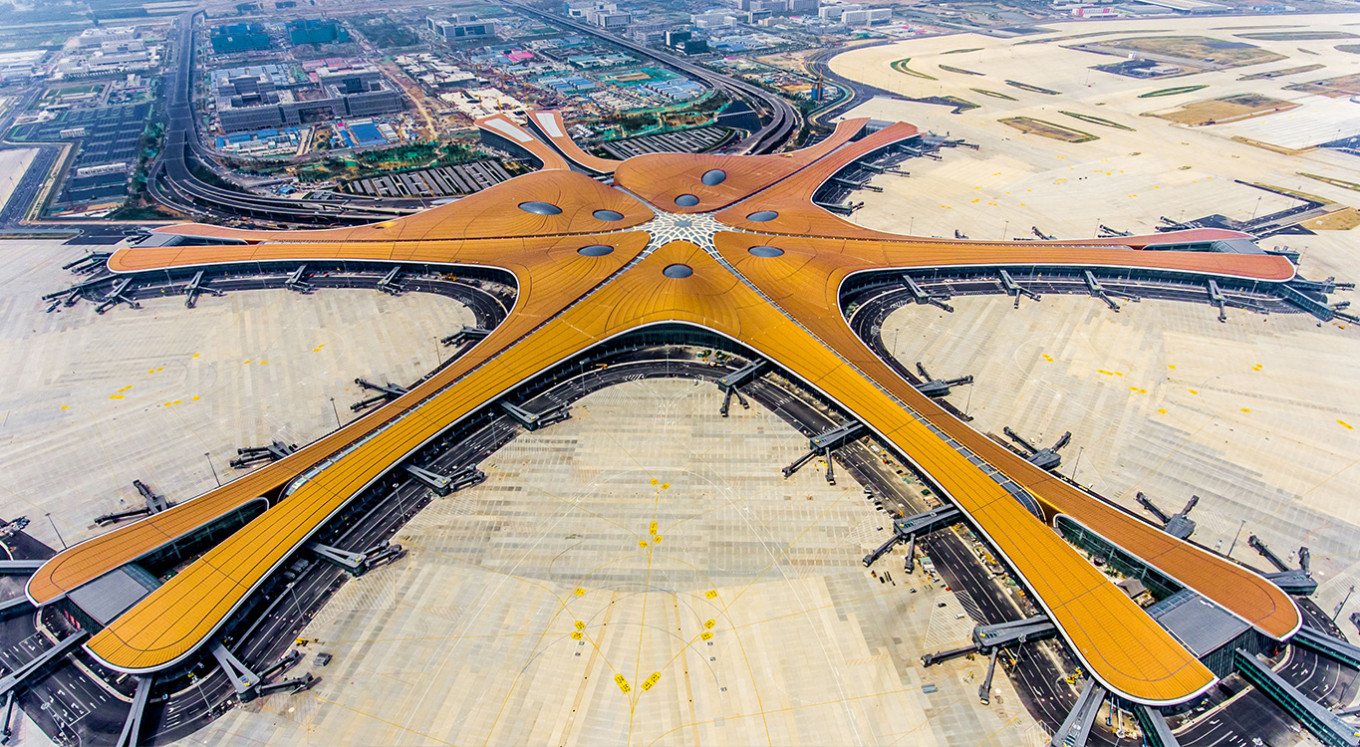 Giant Beijing airport set to open on eve of China's 70th birthday