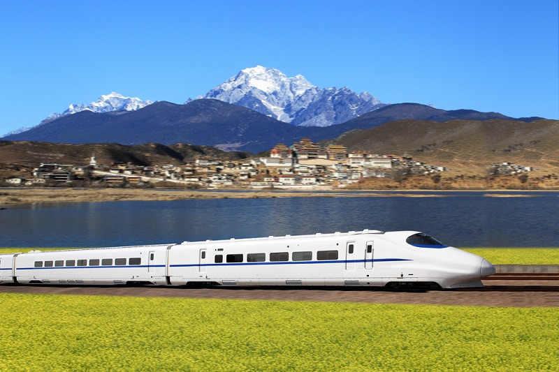 China first in the world for high-speed trains