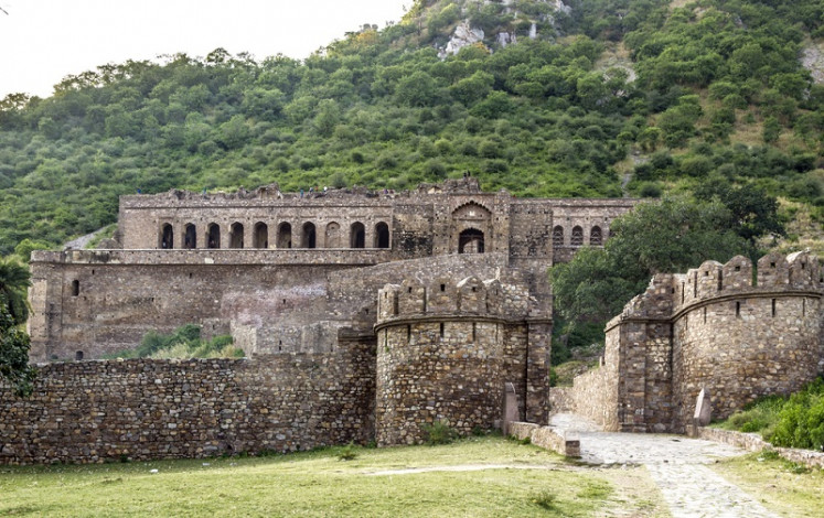 Bhangarh Fort in India.