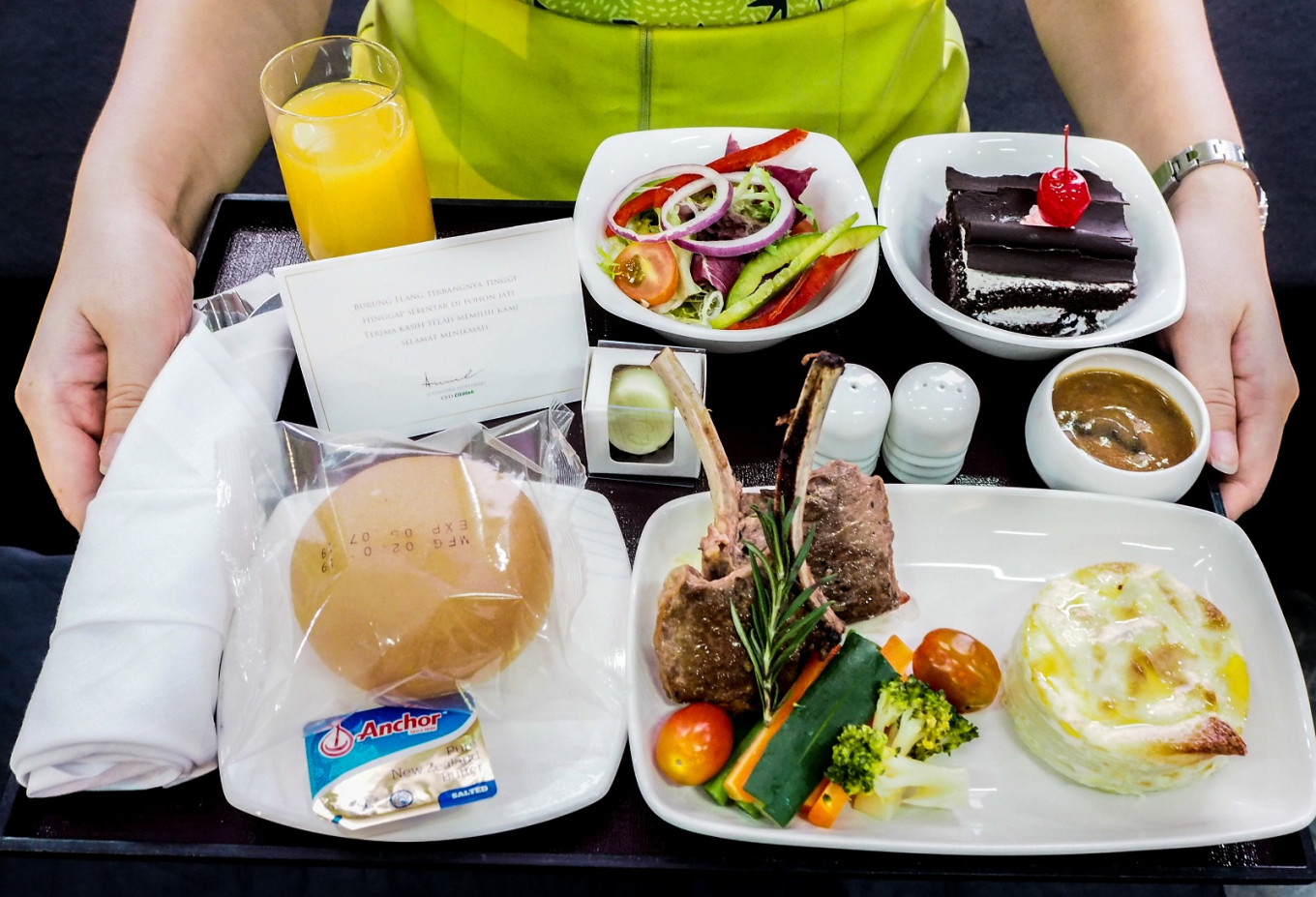 Citilink to let passengers customize their inflight meal