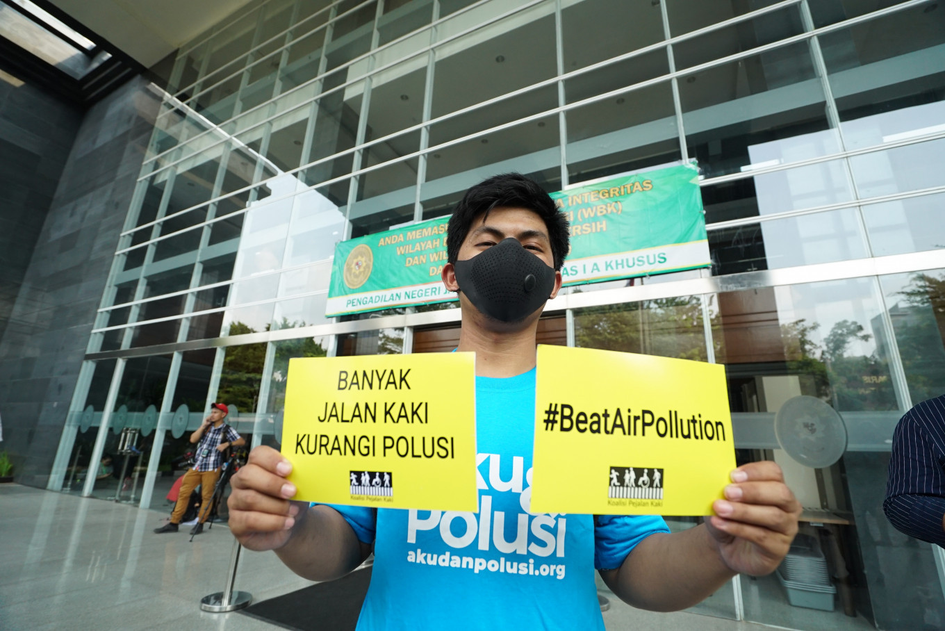 Airvisual: Jakarta declared world's most polluted city on Thursday afternoon