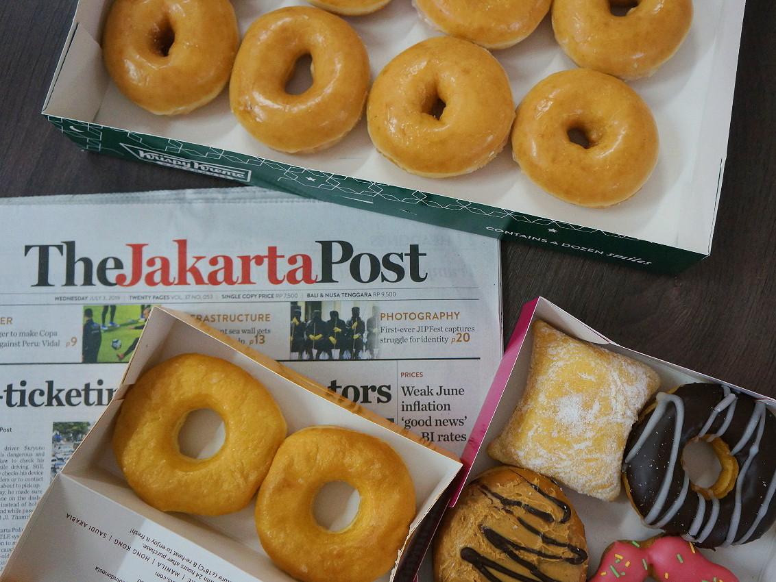 Jakpost Taste Test: Donuts
