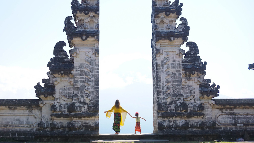 Bali's Lempuyang temple 'gates of heaven' less dramatic than expected
