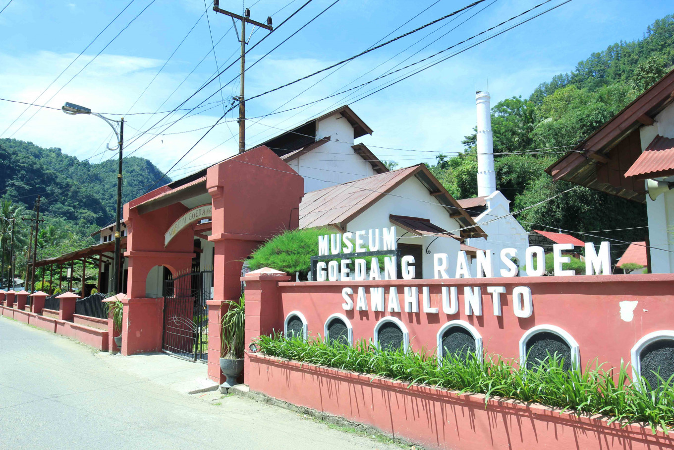 What to know about the Ombilin coal mine in Sawahlunto