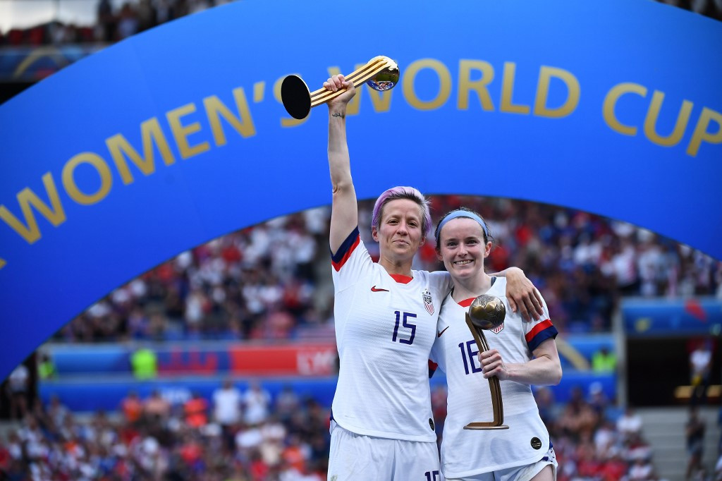 US rejoices after women's football World Cup win