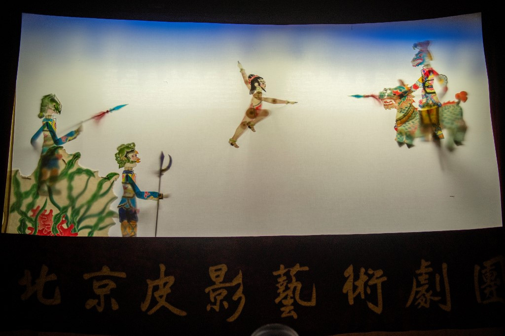 Chinese shadow theater fights against dying of the light