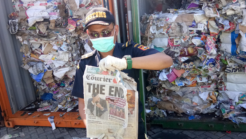 After plastic, Indonesia now also returns contaminated paper waste to Australia
