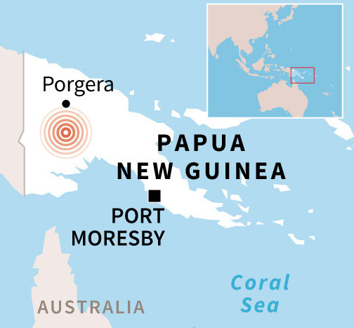 Gunmen massacre 18 in Papua New Guinea