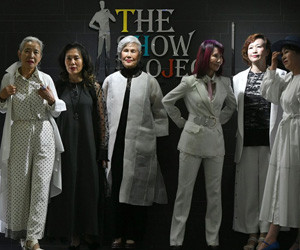 Vintage fashion: Senior models bridge South Korea's age divide
