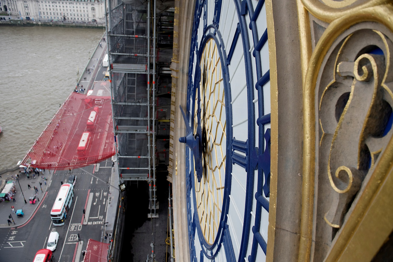 UK parliament's 'Big Ben' bell marks 160 years with silence as restoration work continues