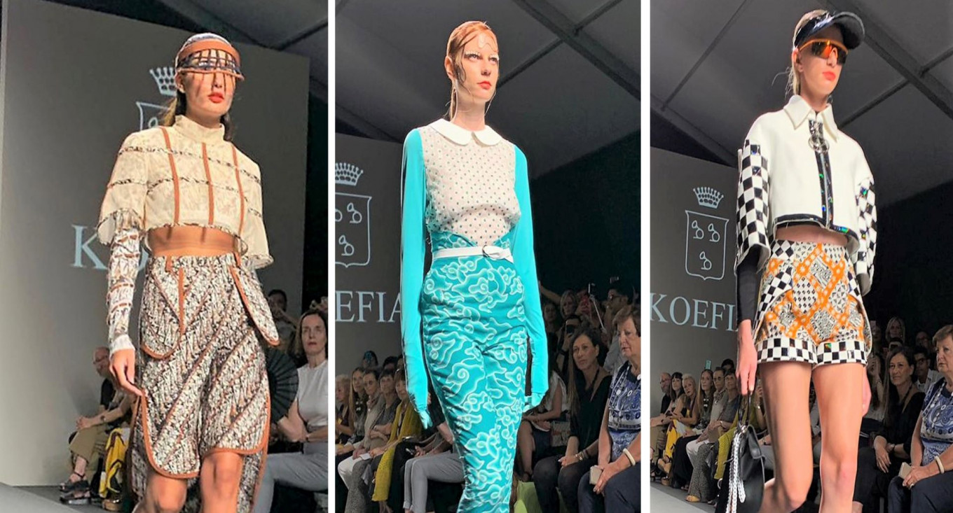 Indonesian Textiles In Limelight At Rome Fashion Week Lifestyle The Jakarta Post