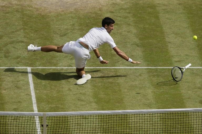 Djokovic into sixth Wimbledon final as Federer, Nadal wait