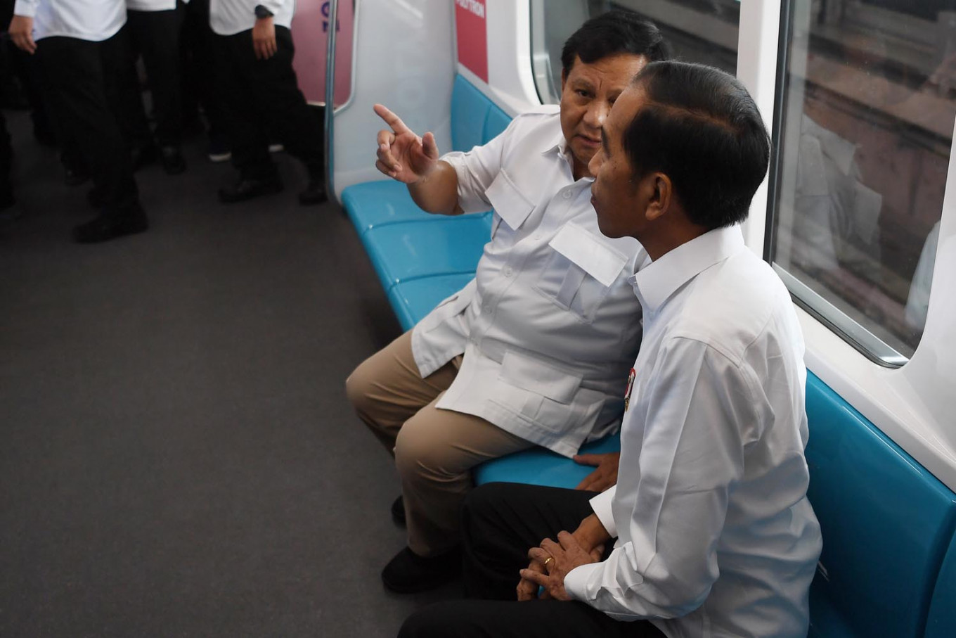 Jokowi meets Prabowo: Still possible for Gerindra to join government