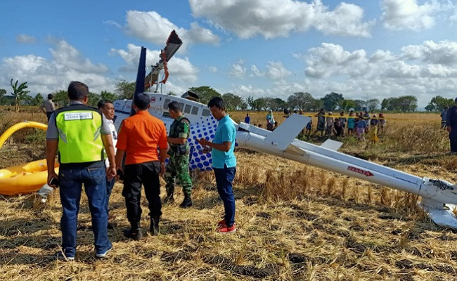 Tourist helicopter falls in Lombok, injuring four including foreigners