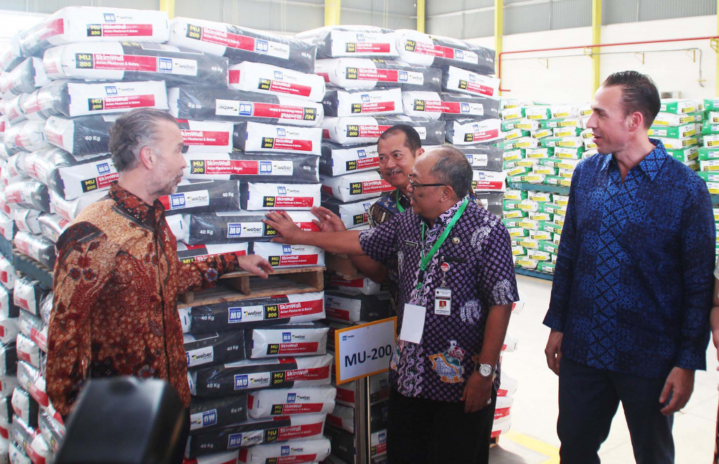 PT Cipta Mortar Utama targets annual production of 170,000 tons