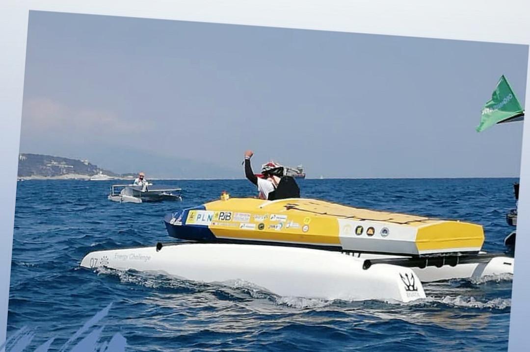 UI students win Spirit Prize in Monaco Solar & Energy Boat Challenge