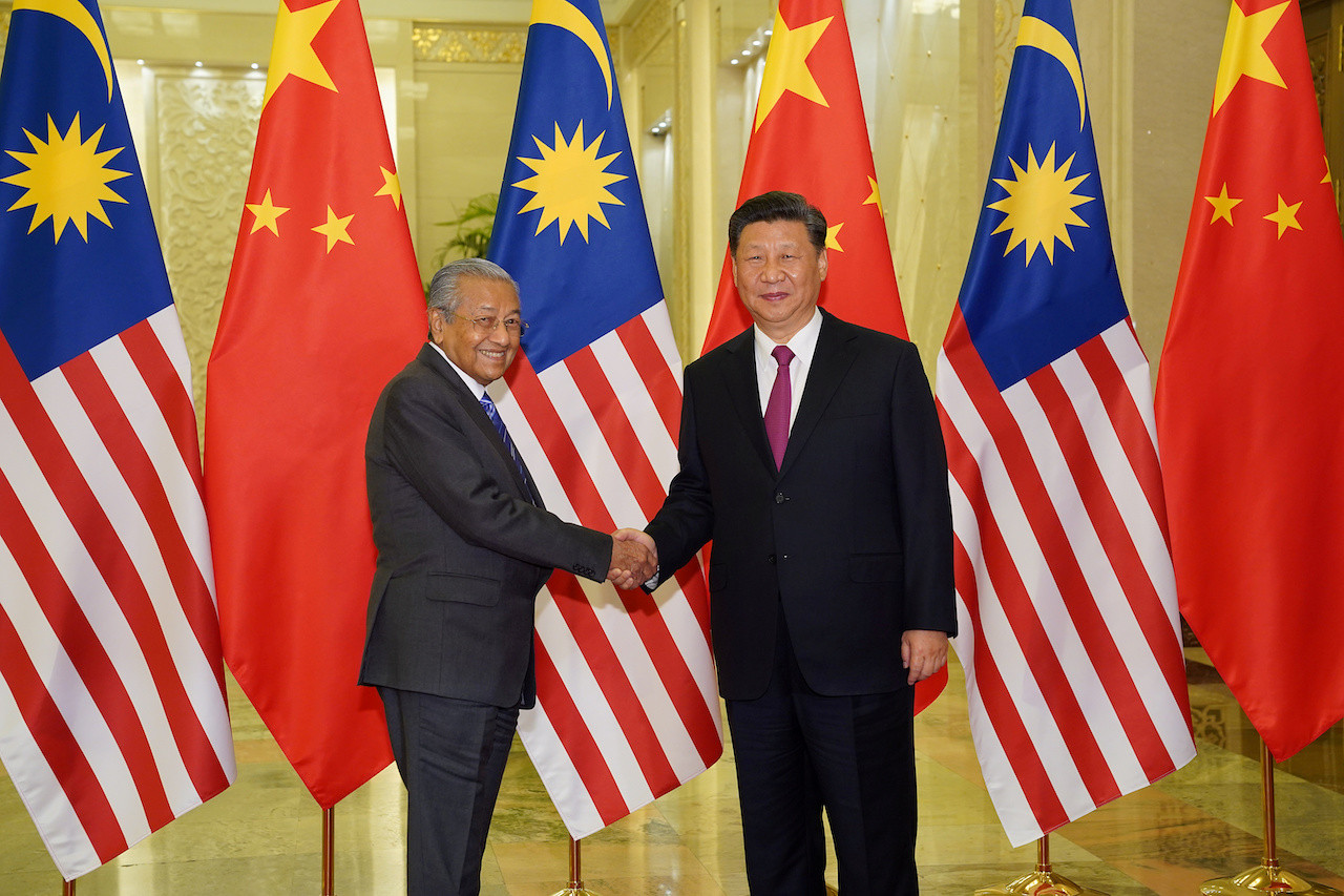 Malaysia seized $240m from Chinese company over pipeline project: Mahathir