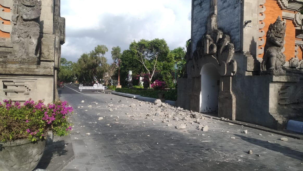Nusa Dua earthquake: Rock sediment triggers strong jolts