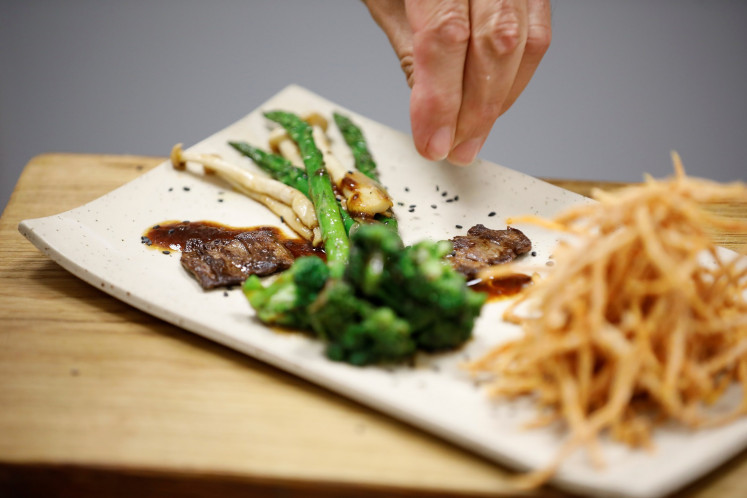 On the menu soon: Lab-grown steak for eco-conscious diners