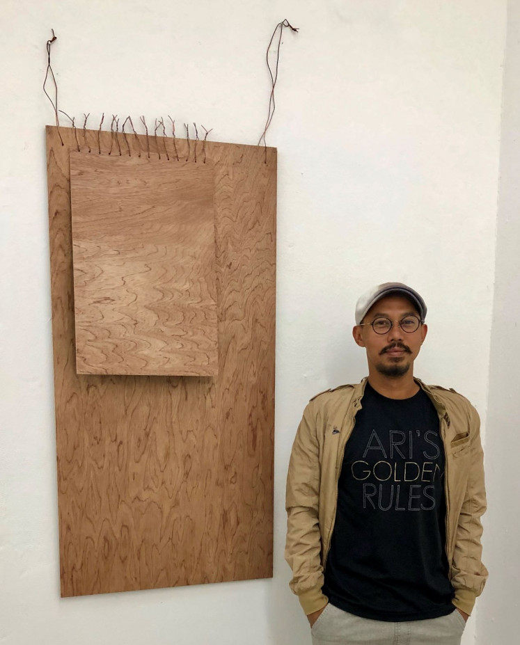 The artist: Ari Bayuaji is the first international artist not based in Germany to receive a residency at Parkhaus in Düsseldorf.
