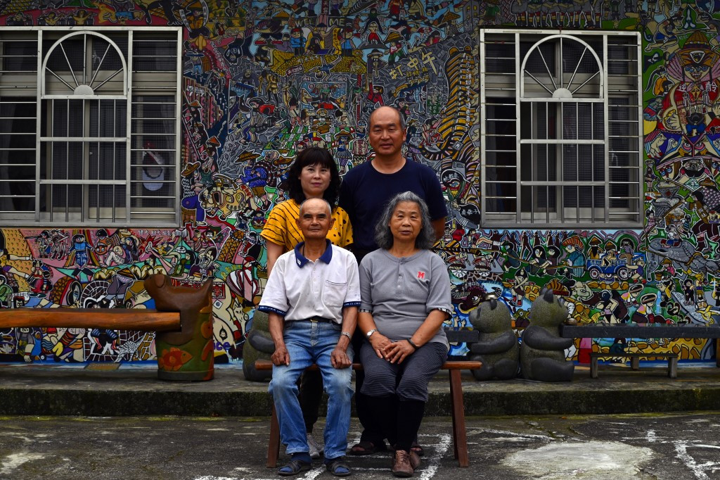 Taiwanese 'graffiti village' eases elderly loneliness