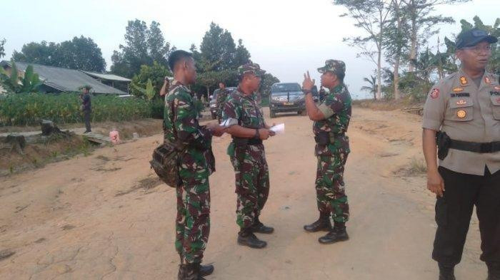 Police seize weapons after deadly brawl among farmers in Lampung