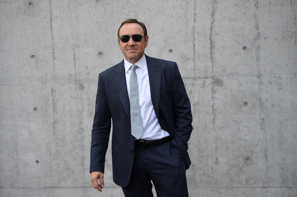 Kevin Spacey tells people who are struggling 'It does get better'