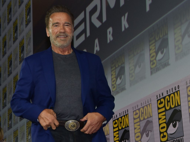 Arnie 'addicted' to Terminator as original Sarah Connor returns for sequel