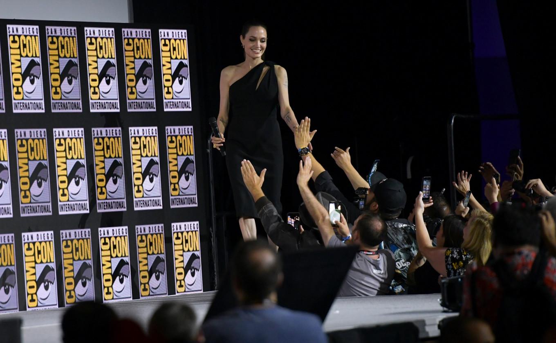 Jolie in 'Eternals', Ali as 'Blade' highlight Marvel's new slate
