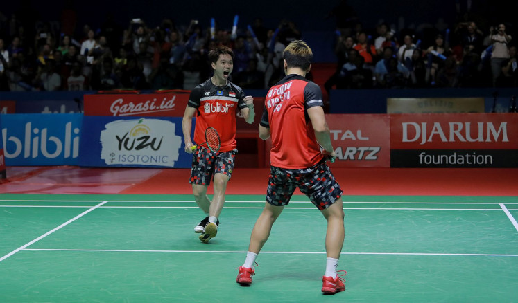 'Daddies' vs 'Minions': Historic All-Indonesian final after 14 years at Indonesia Open